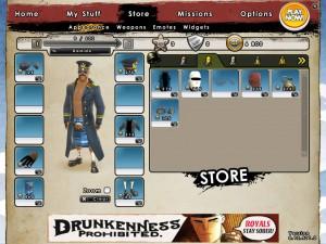 Battlefield Heroes Garderob - Klicka för att förstora