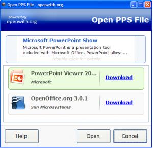OpenWith download - Klicka för att förstora